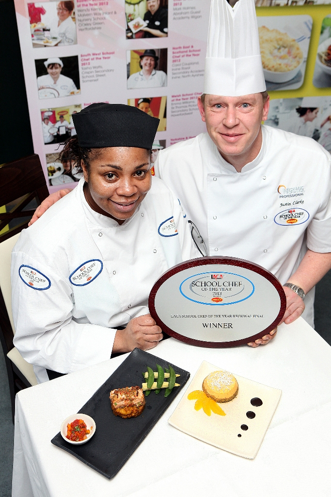 Chartwells chef first to book place at School Chef of the ...