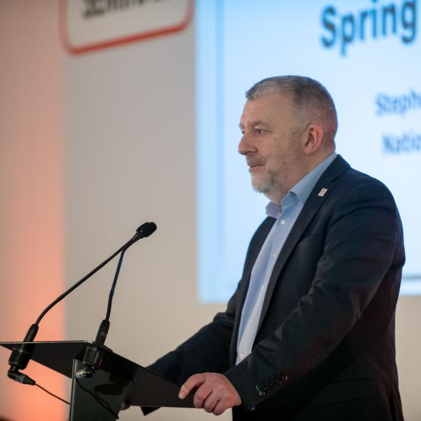 Stephen Forster, national chair of LACA